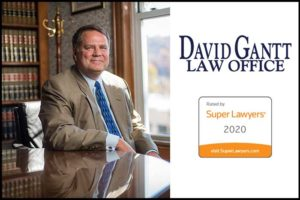 David Gantt included in North Carolina Super Lawyers 2020